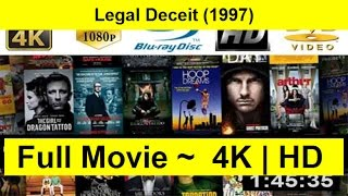 Legal Deceit Full Movie