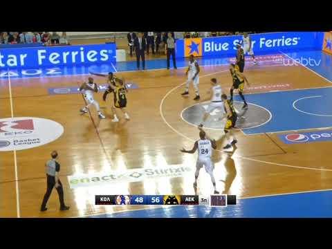 Basket League 2019-2020: ΚΟΛΟΣΣΟΣ – ΑΕΚ | HIGHLIGHTS | 11/01/2020 | ΕΡΤ