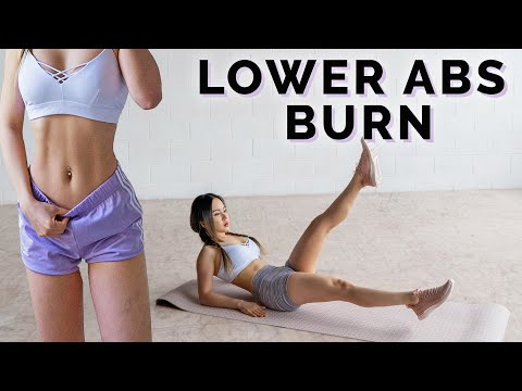 Intense Lower Abs Workout �� Burn Lower Belly Fat ��
