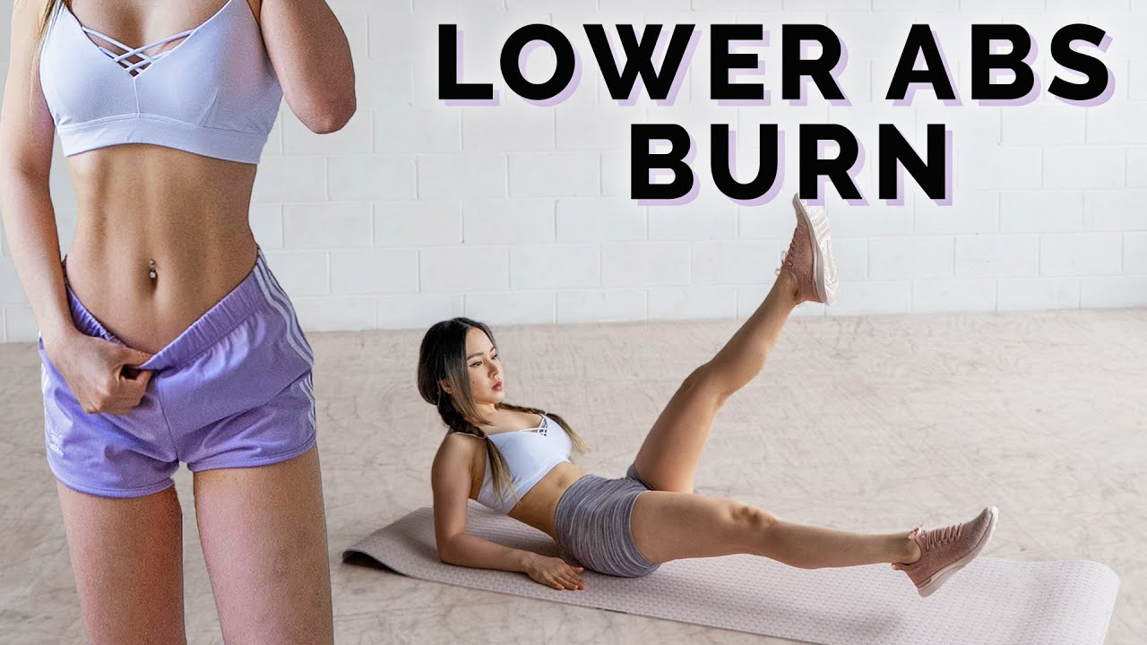 Intense Lower Abs Workout 🔥 Burn Lower Belly Fat  🤔