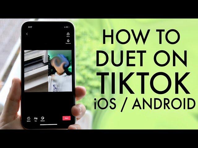 How To Duet On Tiktok 2020 Youtube