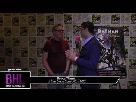 Bruce Timm (Batman and Harley Quinn) at San Diego Comic-Con 2017