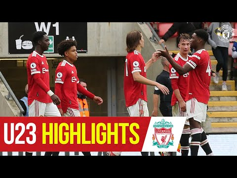 U23 Highlights |  Manchester United 3-0 Liverpool |  The academy