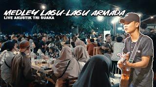 Download lagu MEDLEY LAGU ARMADA LIVE AKUSTIK COVER BY TRI SUAKA - PENDOPO LAWAS