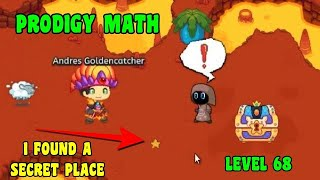 I FOUND A SECRET PLACE 😵 | Prodigy Math GAME🔵☑️