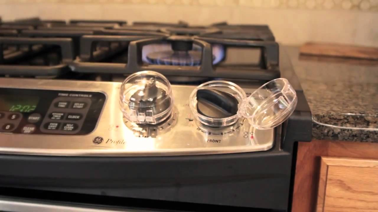 Child Safety Tip Stove Knob Covers 141 Youtube