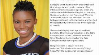 Jamaica Gospel Song Finalist 2014 - Keneisha Smith - Prayer Warrior