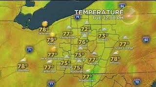 KDKA-TV Afternoon Forecast (6/25)