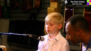 "Parker sings ""Bare Necessities"" by Terry Gilkyson"
