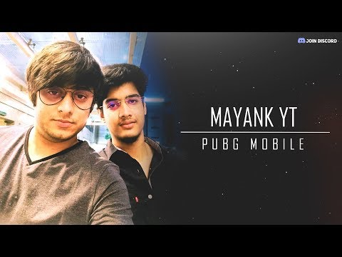 [ HINDI ] #STAYHOME #WITHME | PUBG MOBILE MAYANK YT