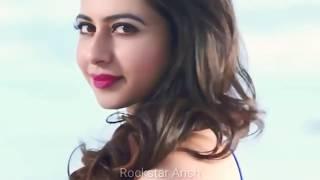 Tujhe Chand Ke Bahane Dekhu | Alu arjun | rakul preet | new whatsapp states | #lovingpeople