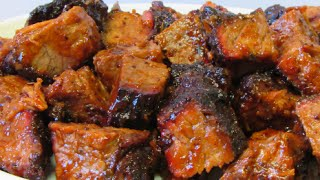 Brisket Burnt Ends - Smoked Brisket - How To Make Burnt Ends