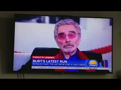 Burt Reynolds Today   3'1518