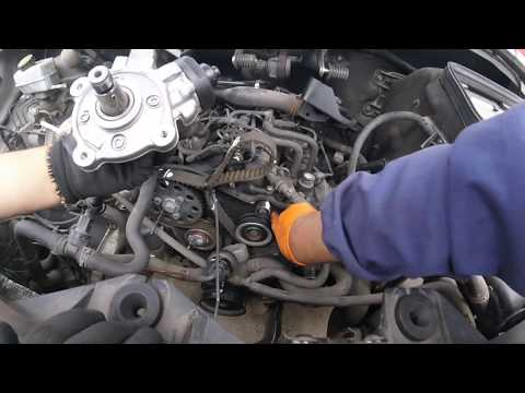Как поменять ТНВД VW crafter \ How to change fuel pump VW crafter