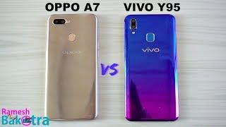 Oppo A7 vs Vivo Y95 SpeedTest and Camera Comparison