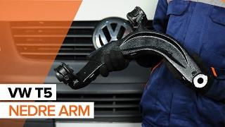 Hvordan bytte front nedre arm på VOLKSWAGEN T5 BRUKSANVISNING | AUTODOC