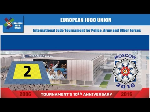 International Judo Tournament for Police, Army and Other Forces 2016 - MAT 2