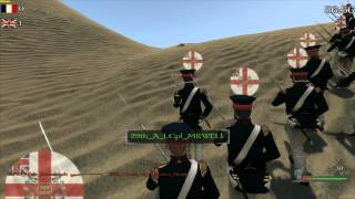 Mount & Blade: Warband - Napoleonic Wars Line Battle 29th Worcestershire Regiment of Foot