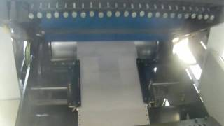 1) the professional computer bill printing system, based on offset press, equipped with imported paper-conveying track, servo system and plc...
