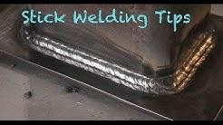 Stick Welding Tips - 3 welders