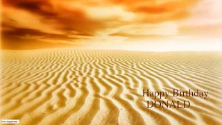 Donald  Nature & Naturaleza - Happy Birthday