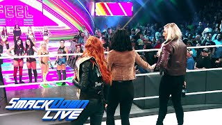 See how the first-ever Women's TLC Match became reality: SmackDown LIVE, Dec. 4, 2018
