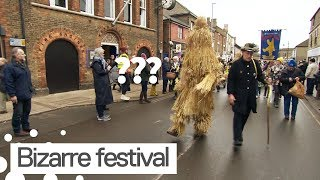 Annual 'Straw Bear Festival' Takes Places in Whittlesea