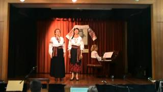 """Gambar cover """"Pleve Choven"""" and  """"Krynychenka"""" at Taras Shevchenko concert. 13 March 2011. 7 of 9"""