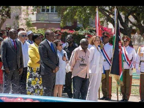Cuba honours Mzee Jomo Kenyatta with statue at Park of African Heroes