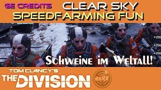 The Division 1.7.1 | Global Event Credits Assault, Clear Sky Speed-Run | Schweine im Weltall!