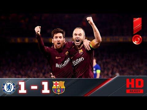 20.02.2018г. Челси - Барселона - 1:1. Обзор первого матча 1/8 Лиги чемпионов