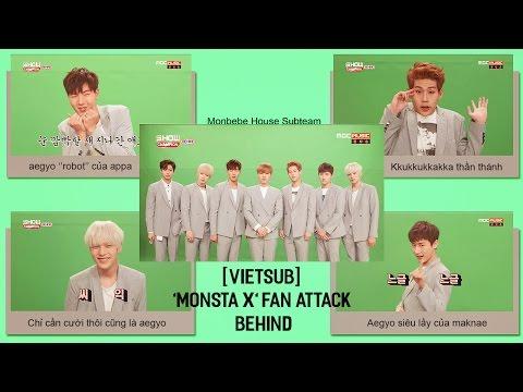 [VIETSUB] MONSTA X - FAN HEART ATTACK (Behind the scene)