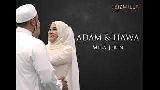 ADAM DAN HAWA - MILA JIRIN (OFFICIAL LYRIC VIDEO)