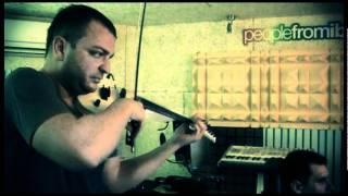 Micah The Violinist & Oliver Schmitz Recording in Studio part 1