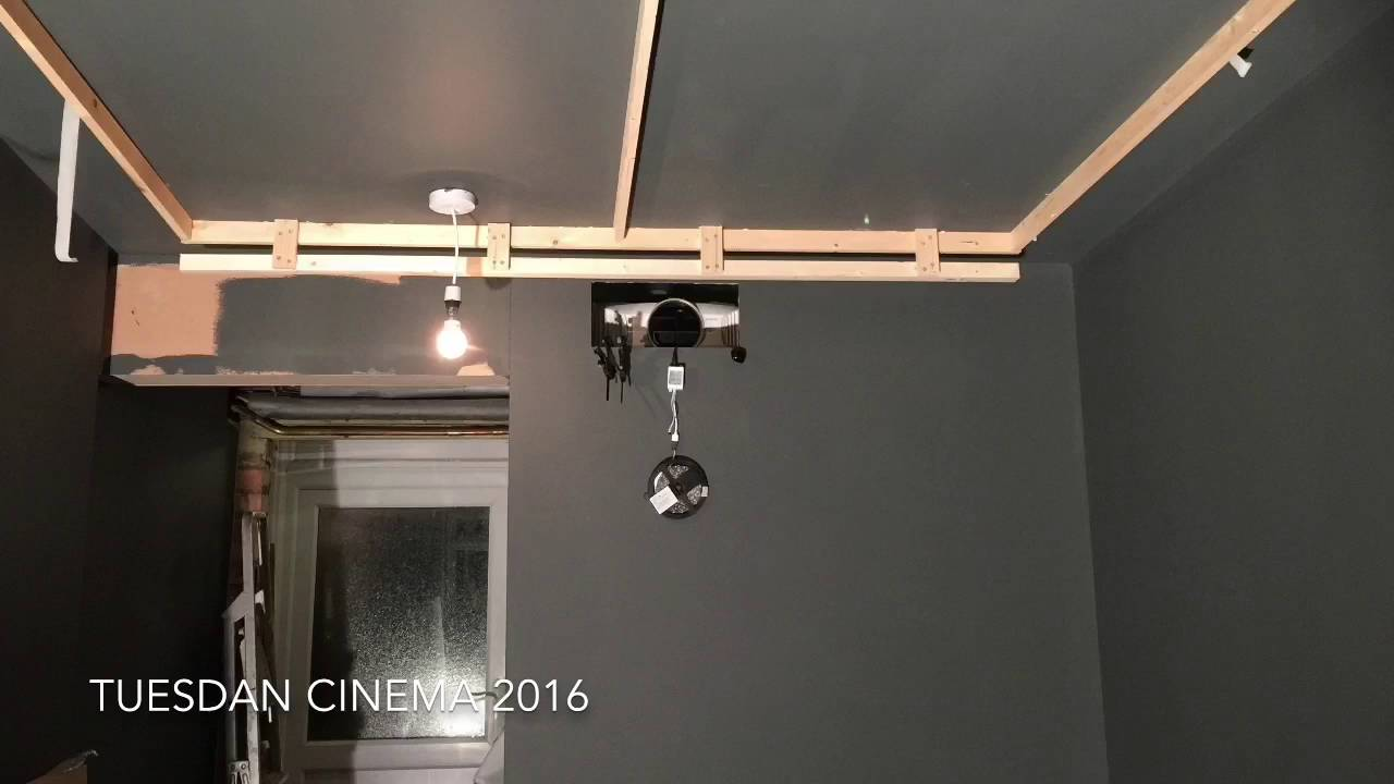 Garage To Diy Home Cinema In 4mins Youtube