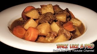Easy Beef Stew Recipe ! - Delicious AND Fast !