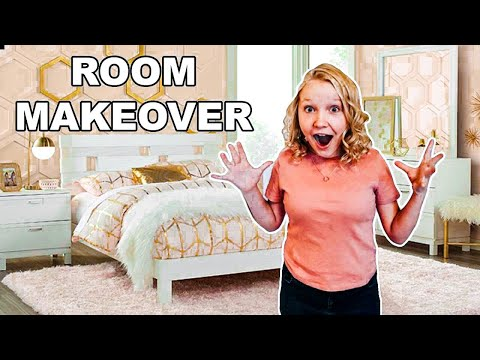 ROOM TOUR!!! Surprise Makeover for SAIDEE!   SECRET SURPRISE AT END! *Very EMOTIONAL!!