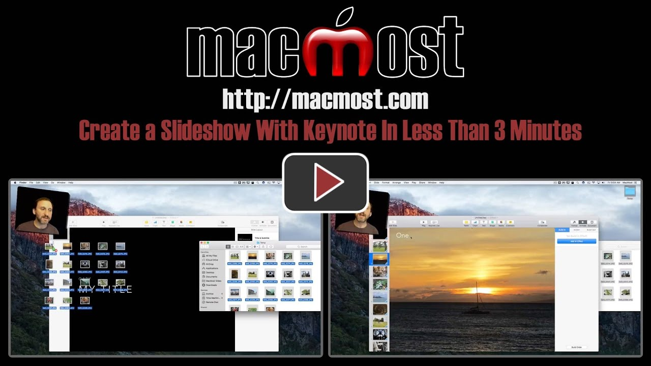 Create a Slideshow With Keynote In Less Than 3 Minutes