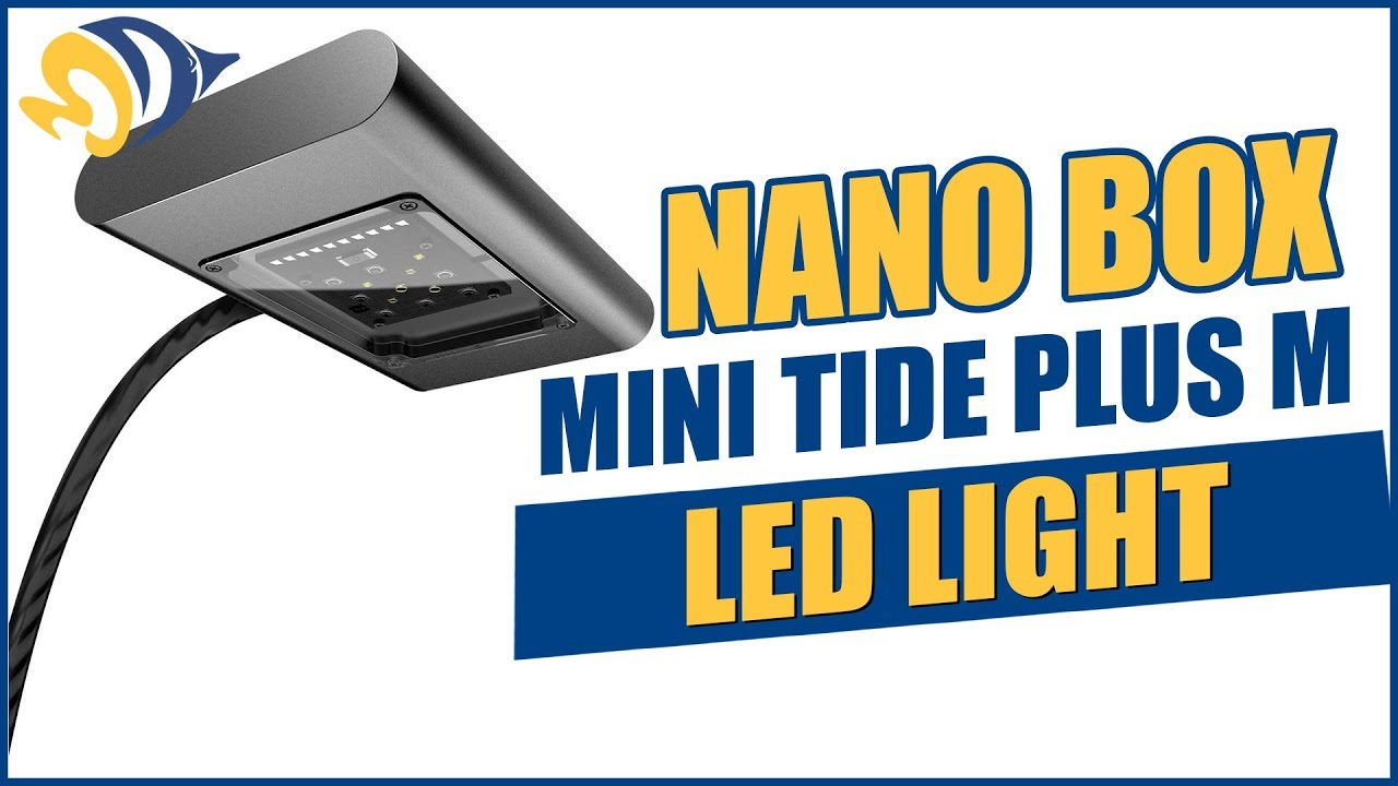 NanoBox Reef Mini Tide Plus M LED Light - What YOU Need to Know Thumbnail
