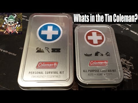 Seriously Coleman?! | Personal Survival Kit | All Purpose First Aid Kit | EDC Tin