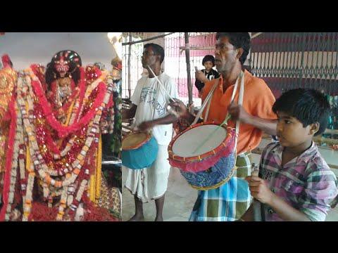 Amazing Rhythm in Dhak in Sasan Kali Puja | Cute Baby Enjoying and Dancing