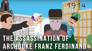 How did the assassination of archduke franz ferdinand happen? this cartoon will show you.support cartoons on patreon:https://www.patreon.com/simp...