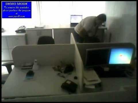 Filmaram patrão comendo a secretaria