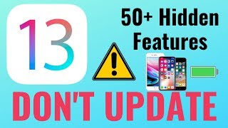 DON'T Update to iOS 13 // 50+ Hidden iOS 13 FEATURES