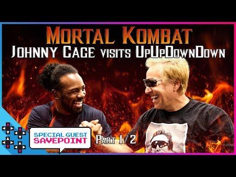 Daniel Pesina aka MORTAL KOMBAT's JOHNNY CAGE visits UpUpDownDown! Round 1 - Special Guest Savepoint thumbnail
