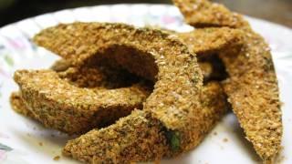 Easy Raw Avocado Fries Recipe - Vegan & Organic