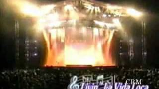 Ricky Martin livin la vida loca tour full concert