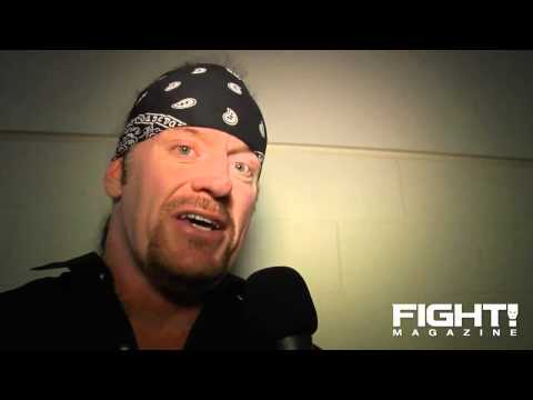 The Undertaker I Might Try to Manage a Few Fighters / Backstage Interview (720p)