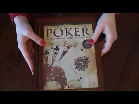 ASMR Poker Lesson * Tapping * Unpackaging * Whispers