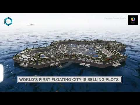 World's First Floating City, Blue Estate, Is Selling $1.5 Bi
